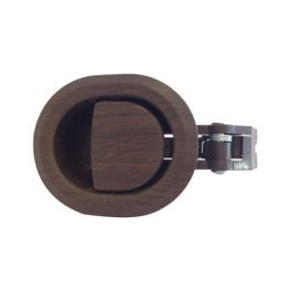 Brown Plastic Round-Shape Recliner Handle With 3.5mm Barrel H1320