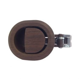 Brown Plastic Round-Shape Recliner Handle With 6mm Barrel H1380