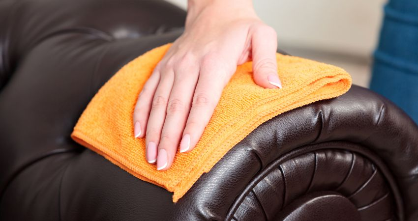 how to clean your leather recliner